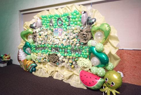まねきケチャ 篠原葵様の生誕祭祝い連結フラスタ @品川インターシティホール