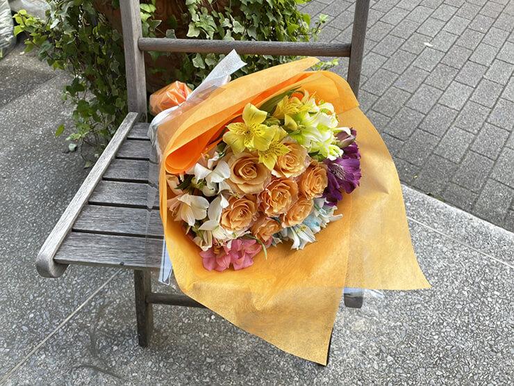 #ワールドカオス 花宮みずき様のライブ公演祝い花束 @aube shibuya