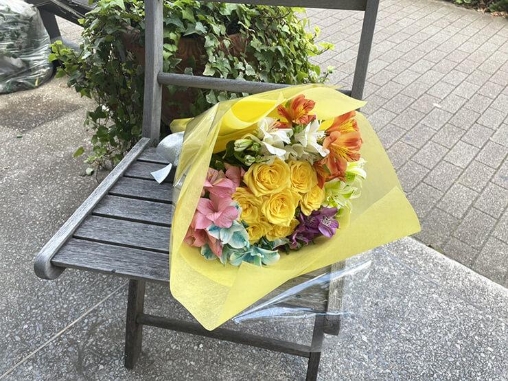 #ワールドカオス りこぴん(兎見りこ)様のライブ公演祝い花束 @aube shibuya