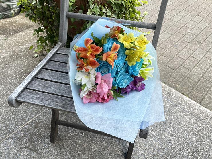 #ワールドカオス さえち様のライブ公演祝い花束 @aube shibuya
