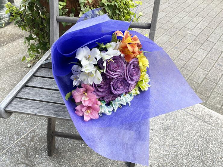 #ワールドカオス 黒羽有咲様のライブ公演祝い花束 @aube shibuya
