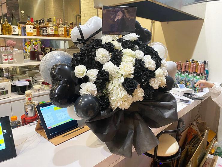 たつき様の誕生日祝い花 @秋葉原メイドCafe & Bar エターナルステージ