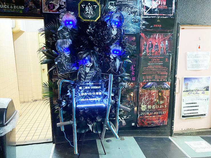 蟻様の二周年ワンマンライブ公演祝いフラスタ @高田馬場AREA
