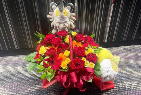 READY TO KISS 弓川いち華様のラストライブ公演祝い花 @日本橋三井ホール