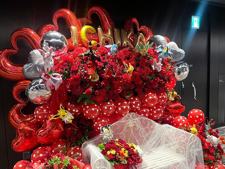 READY TO KISS 弓川いち華様のラストライブ公演祝い連結フラスタ @日本橋三井ホール