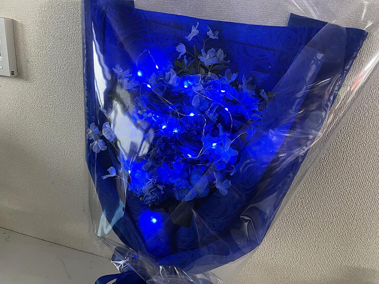 Chu-Z 加奈様の生誕祭祝い花束 @表参道GROUND