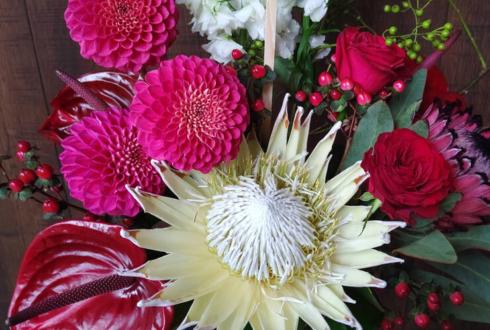 DREAM STORE様の9周年祝い花 @歌舞伎町