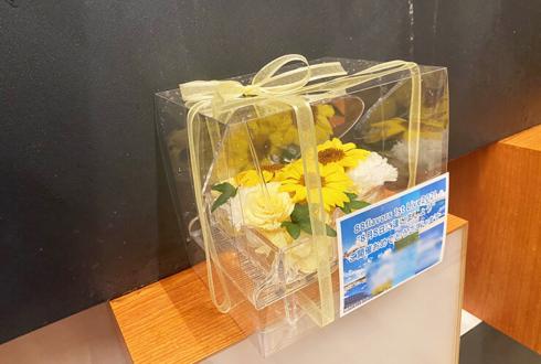 88flavors mayuko様のライブ公演祝い花 プリザーブドフラワーピアノアレンジ@shibuya gee-ge.
