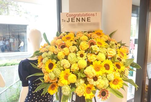 JENNE様の開店祝いスタンド花 @表参道