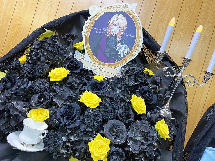 【 #ヲモヒヲカタチニプラス 】Fantôme Iris様の1stライブ振替公演延期に再開を願うフラスタ5基 @Zepp Haneda 【レンタルスペース展示】