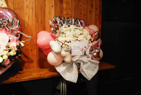 なき様のライブGarlic Vine vol.9出演祝い花 @四谷Honey Burst