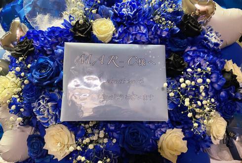 MAR-C様のライブlittle retreat ver.4公演祝い花 @池袋LIVE INN ROSA