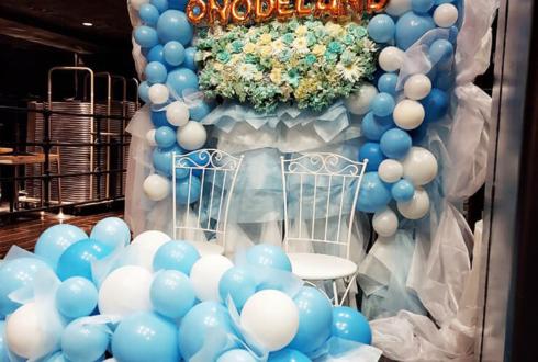 真っ白なキャンバス 小野寺梓様の生誕祭祝い連結フラスタ @新宿BLAZE