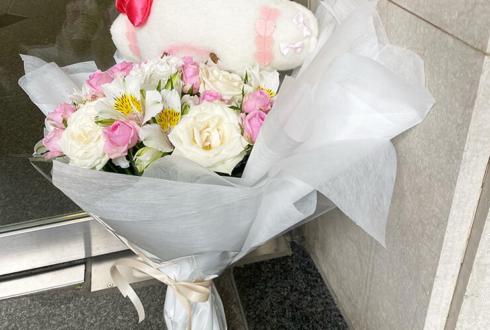 4次元コンパス 鈴原のあ様の生誕祭祝い花束 @渋谷CLUB CRAWL