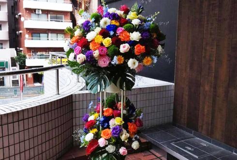 さくらシンデレラ様のライブ公演祝いスタンド花2段 @新宿アルタ KeyStudio