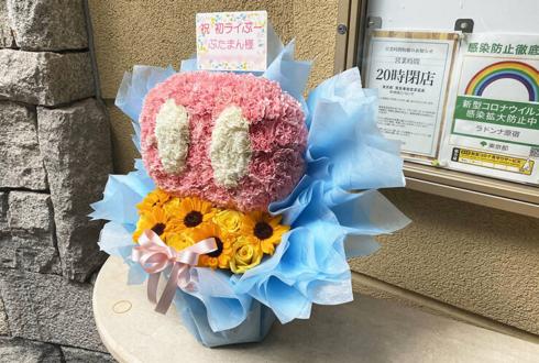 ぶたまん様のライブ公演祝い花 ブタの鼻モチーフアレンジ @ラドンナ原宿