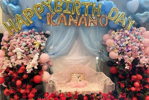 戦慄かなの様の生誕祭祝い連結バルーンアーチ @EX THEATER ROPPONGI
