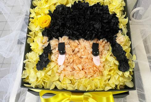 手羽先センセーション 佐山すずか様の生誕祭祝い花 プリザーブドフラワーBOXアレンジ @秋葉原P.A.R.M.S