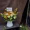 【 #ヲモヒヲカタチニプラス 】劇団アレン座様 栗田学武様の舞台『-野田河家の人々-ホウム2』公演祝い花 @新宿THEATER BRATS 【花屋店頭展示】