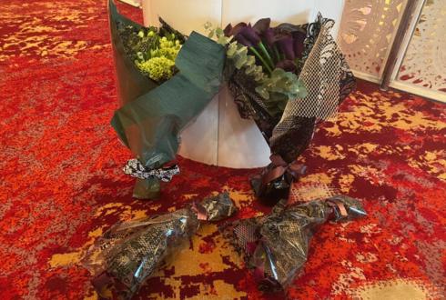 オダケイジダンスアカデミー5周年記念パーティー開催祝い花束 @グランドプリンスホテル新高輪 飛天の間