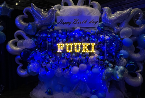 7riot ふうき様の生誕祭祝い3基連結フラスタ @P.A.R.M.S秋葉原店
