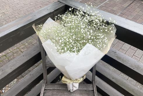 alma 花沢真里乃様の撮影会開催祝いかすみ草の花束 @HouseStudioYuis
