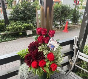 【 #ヲモヒヲカタチニプラス 】ご自宅での推し事に 松田岳様の舞台出演祝い花 @日本青年館ホール