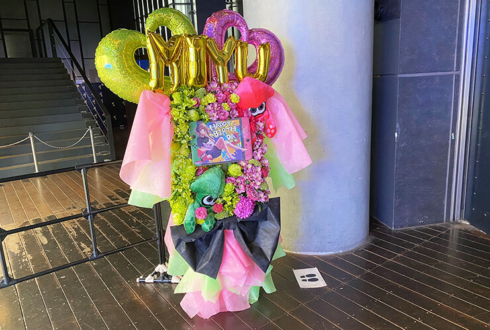 NEO JAPONISM 福田みゆ様の生誕祭祝いフラスタ @duo MUSIC EXCHANGE